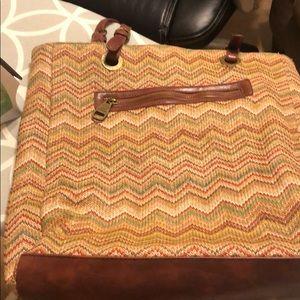 Steve Madden Bags - Lovingly used Steve Madden straw handbag
